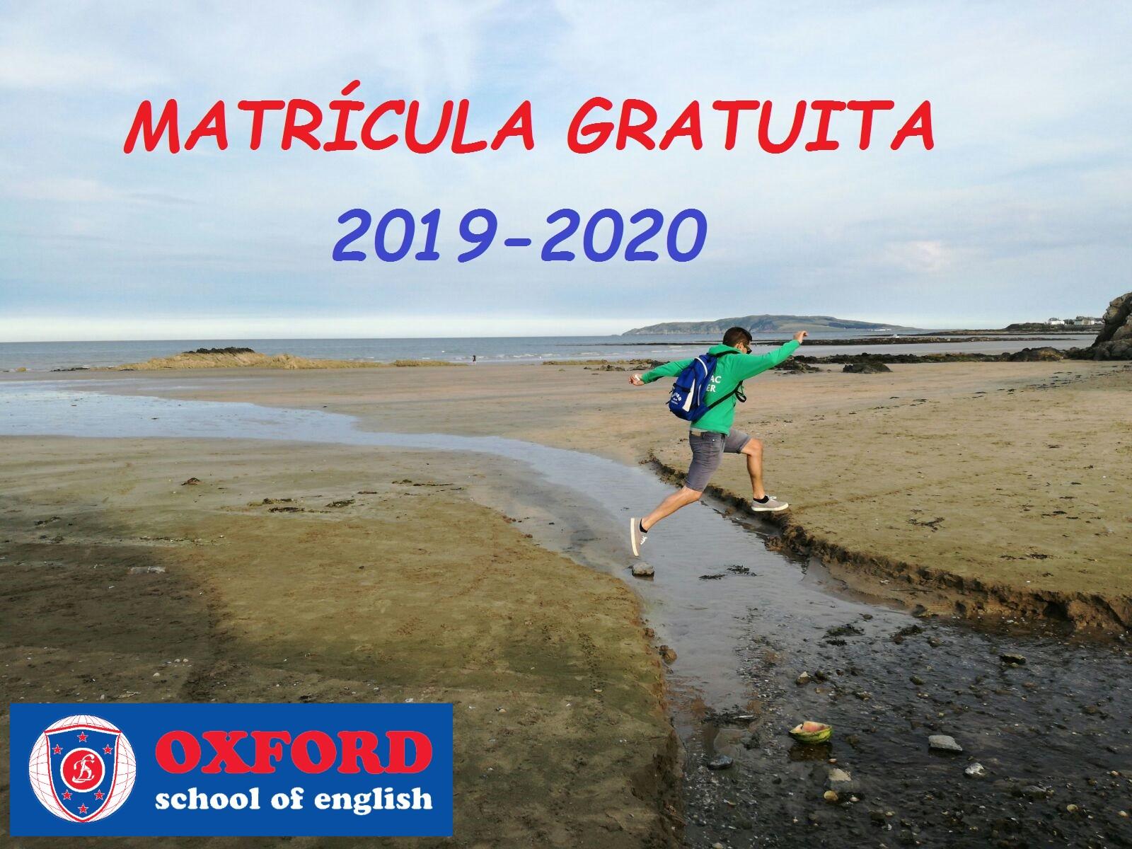 matricula gratis inglés